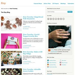Search: how tuesday :: Etsy Blog