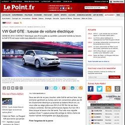 VW Golf Hybride rechargeable : moins de 2 l/100 km