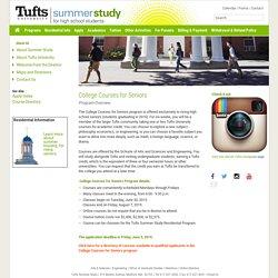 Tufts Summer Study
