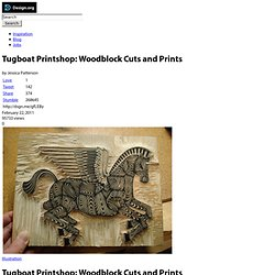 Tugboat Printshop: Woodblock Cuts and Prints