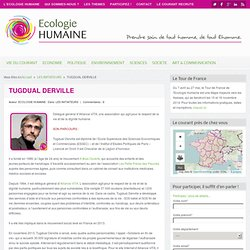 TUGDUAL DERVILLEEcologie Humaine