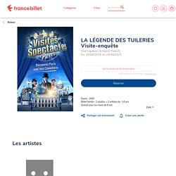 LA LÉGENDE DES TUILERIES - COUR NAPOLEON DU LOUVRE à PARIS 01