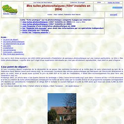 tuiles photovoltaiques