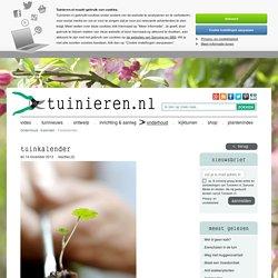 Tuinkalender: alle tuinklussen per maand