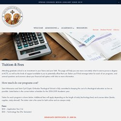 Tuition & Aid — ACTS
