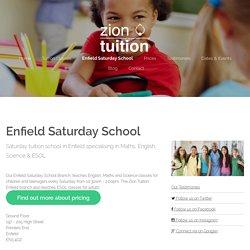 Saturday School in Enfield - Zion Tuition