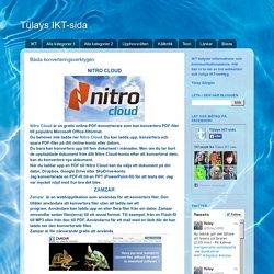 Tülays IKT-sida: Bästa konverteringsverktygen