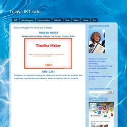 Tülays IKT-sida: Bästa vertygen för att skapa tidslinjer