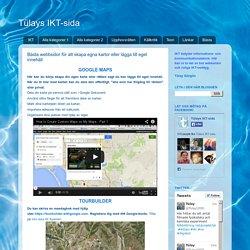 Bästa webbsidor för att skapa egna kartor eller lägga till eget innehåll