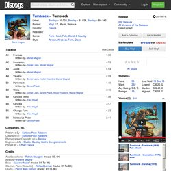 Tumblack - Tumblack (Vinyl, LP, Album) at Discogs