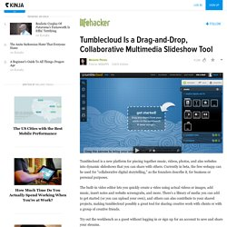 Tumblecloud Is a Drag-and-Drop, Collaborative Multimedia Slideshow Tool