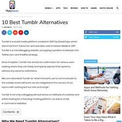 10 Best Tumblr Alternatives in 2019 - AppModo