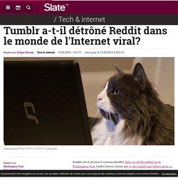 Tumblr a-t-il détrôné Reddit dans le monde de l'Internet viral?