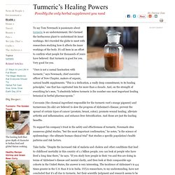 Tumeric's Healing Powers