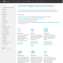 Tumult Hype Documentation
