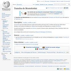Tumulus de Montefortini