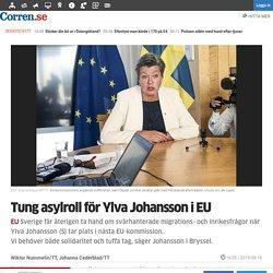 Tung asylroll för Ylva Johansson i EU - Nyheter - Corren.se - Nyheter Linköping Östergötland