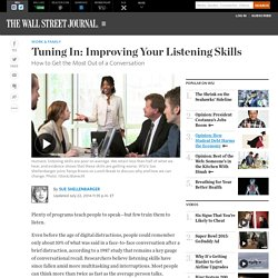 Tuning In: How to Listen Better