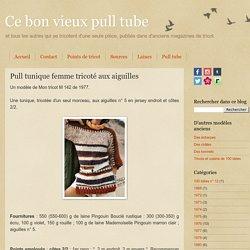 Pull tunique