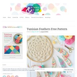 Tunisian Feathers Free Pattern