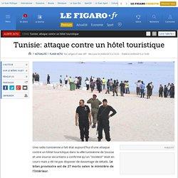 Tunisie: attaque contre un hôtel touristique