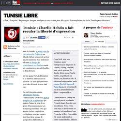 Tunisie: Charlie Hebdo a fait reculer la liberté d'expression