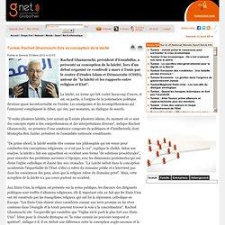 Rached Ghannouchi livre sa conception de la laïcité