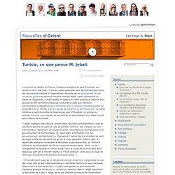 Tunisie, ce que pense M. Jebali