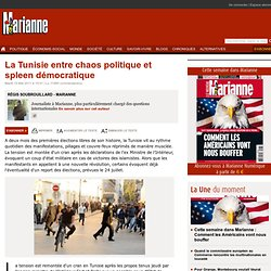 La Tunisie entre chaos politique et spleen démocratique
