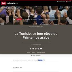 La Tunisie, ce bon élève du Printemps arabe
