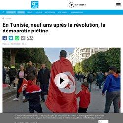 En Tunisie, neuf ans après la révolution, la démocratie piétine