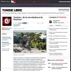 Tunisie: de la révolution à la fracture