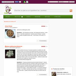 Desserts tunisiens - Recettes de cuisine tunisienne chahiatayba.com