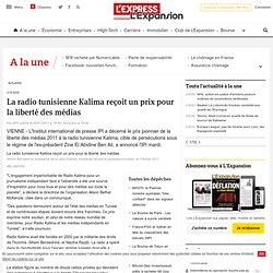 La radio tunisienne Kalima reçoit un prix pour la liberté des médias