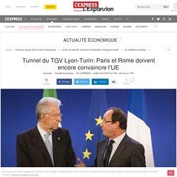 Feu vert au tunnel à 8,5 milliards d'euros du TGV Lyon-Turin