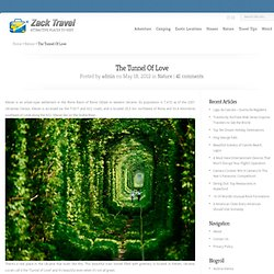 The Tunnel Of Love | Travel Blog Direction & Places to Visit