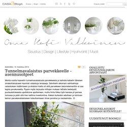 Tunnelmavalaistus parvekkeelle - asennusohjeet - Oma Koti Valkoinen - CASA Blogit