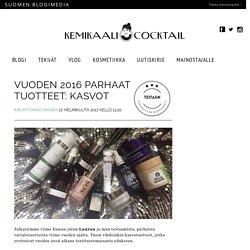Vuoden 2016 parhaat tuotteet: kasvot - Kemikaalicocktail