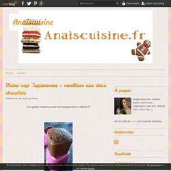 Micro vap' Tupperware : moelleux aux deux chocolats - Anaiscuisine