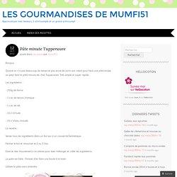Les gourmandises de Mumfi51