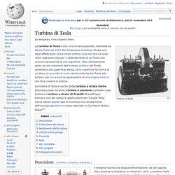 Turbina di Tesla