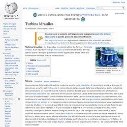 Turbina idraulica(wikipedia)