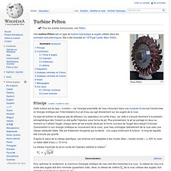 Turbine Pelton wiki