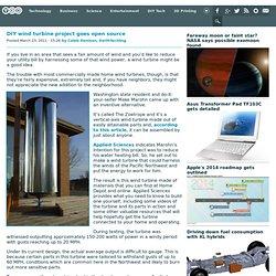 DIY wind turbine project goes open source