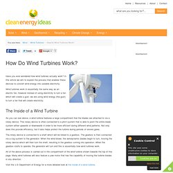How Do Wind Turbines Work