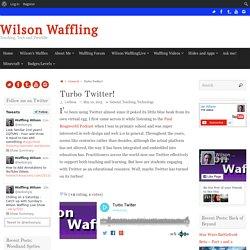 Wilson Waffling