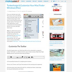 Turbocharge & Customize Your Mac Finder Windows [Mac]