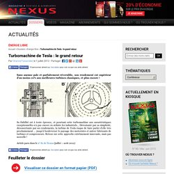 Turbomachine de Tesla : le grand retour