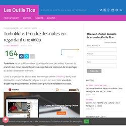 TURBONOTE : prendre des notes en regardant une vidéo