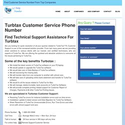 Turbtax Customer Service Phone Number & Support- 247HelpNumber